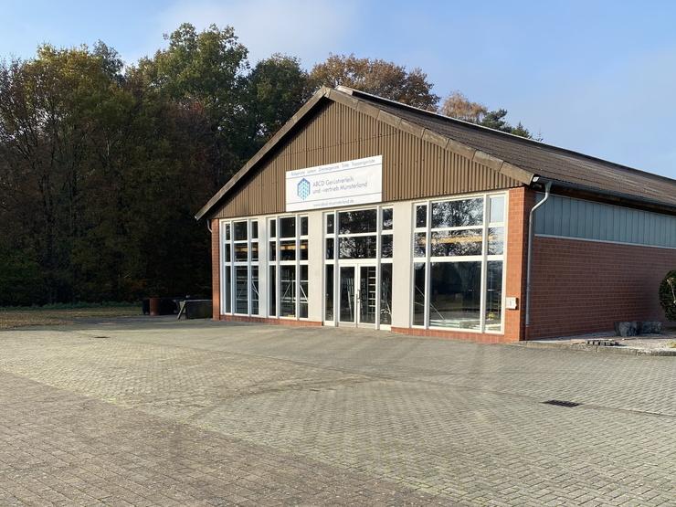 Außenansicht Eingang  ABCD Gerüstverleih und -vertrieb Münsterland