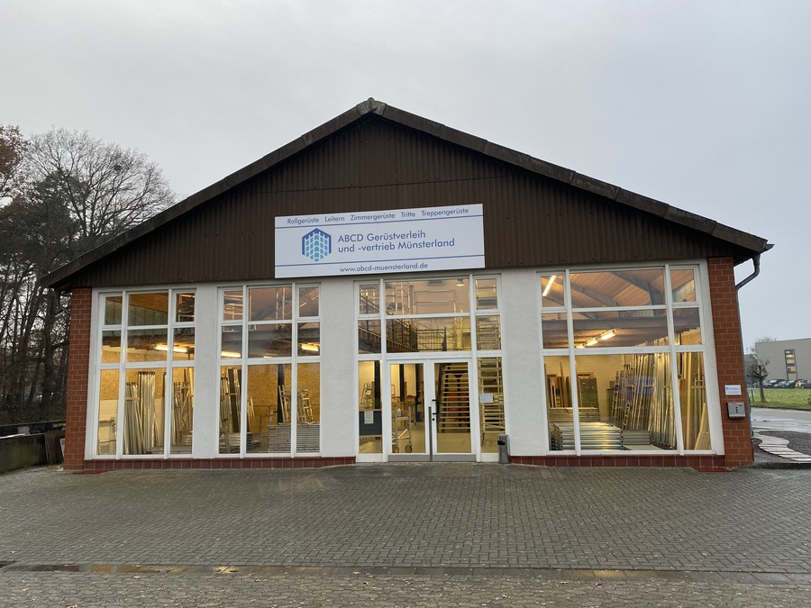 Außenansicht Gebäude  ABCD Gerüstverleih und -vertrieb Münsterland