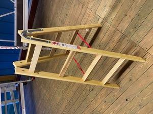 Jumbo Holzleiter 2 x 4