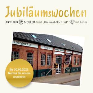 Arthur Müller feiert