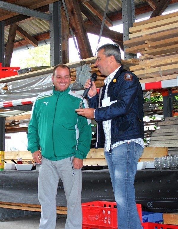 Christian Stibbe - 20 Jahre Betriebszugehörigkeit