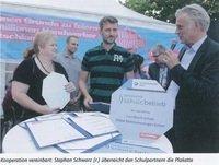 Partnerschaft mit der Schule am Staakener Kleeblatt
