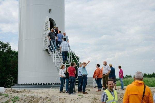 Tag der offenen Windbaustelle, Bilder: Thomas Voß (www.der-vothograph.de)