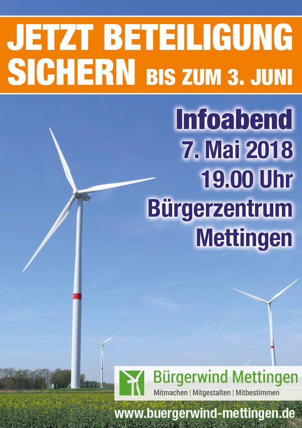 Bürgerbeteiligunz Plakat