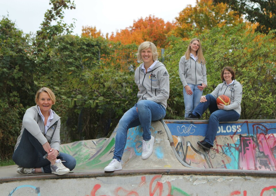 Team der DJK-Geschäftsstelle DV Münster