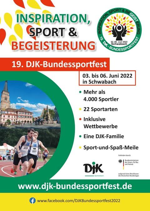 Kick-off: DJK-Bundessportfest 2022