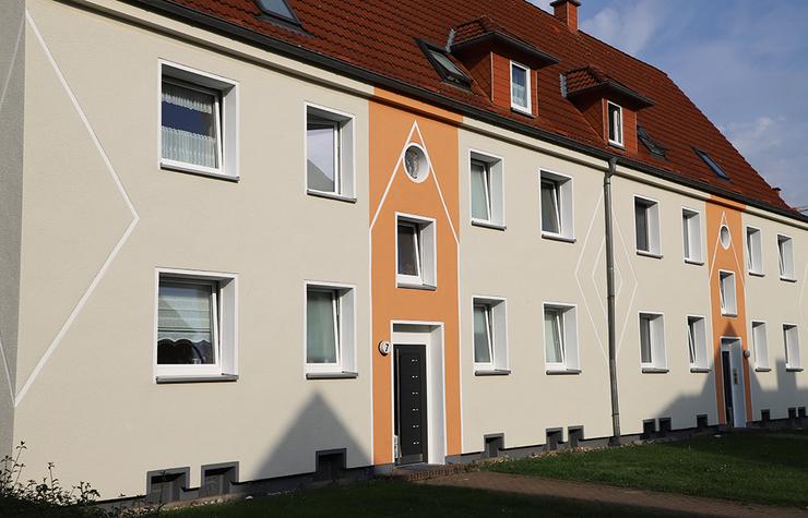 Kreative Fassadengestaltung mit Putz und Farbe