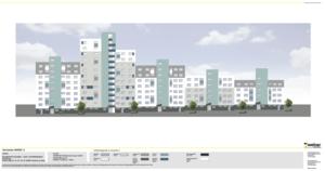 Dämmung und umfangreiche Sanierungen an diversen Mehrfamilienhäusern Grazer Weg 32-40, Frankfurt