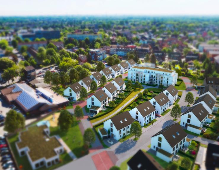 Urbanes Wohnquartier - Eine grüne Insel mitten in der Stadt