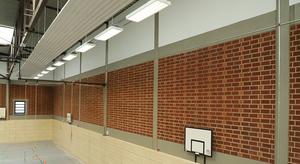 Nicht ganz Alltägliches: Wenn der Untergrund nicht mitspielt ...  Sanierung der Turnhalle Brügmannsblock, Dortmund