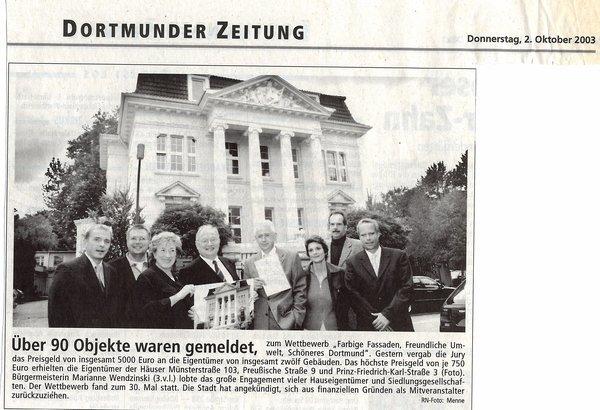 Dortmunder Zeitung-02.10.2003