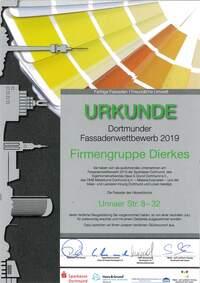 Dortmunder Fassadenpreis geht an DIERKES OBJEKT GmbH