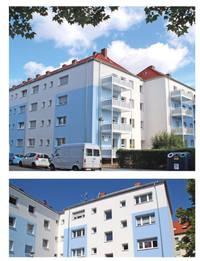 Die Dierkes Objekt GmbH ist durchaus für große Zahlen zu haben! 18.000 qm Wärmedämmung, 12 Wohnblöcke und fast 250 km Entfernung