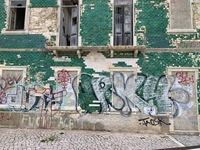 Graffiti an Gebäuden oder 'Des einen Freund ist des anderen Leid'