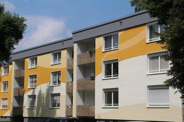 Fassadengestaltung Mehrfamilienhaus: Werkloh, Dortmund (2016) - 1
