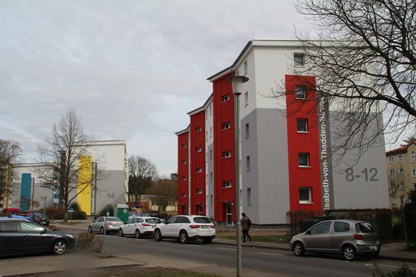 Mehrfamilienhäuser Leverkusen, Elisabeth-von-Thadden-Straße - WDVS (2017) Objekt