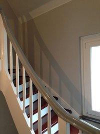 Sanierung Treppenhaus nach Elektroinstallation