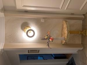 Wenn die Wand zum Kunstwerk wird - Mit kreativen Gestaltungstechniken dezente Highlights gesetzt