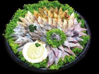 Fischplatte Borkum