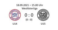 Torloses Unentschieden der U14 gegen Wattenscheid