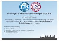 2. Informationsveranstaltung Fusion HSV/FCB