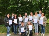 Erfolgreicher Abschluss des Qualifizierungskurses §132