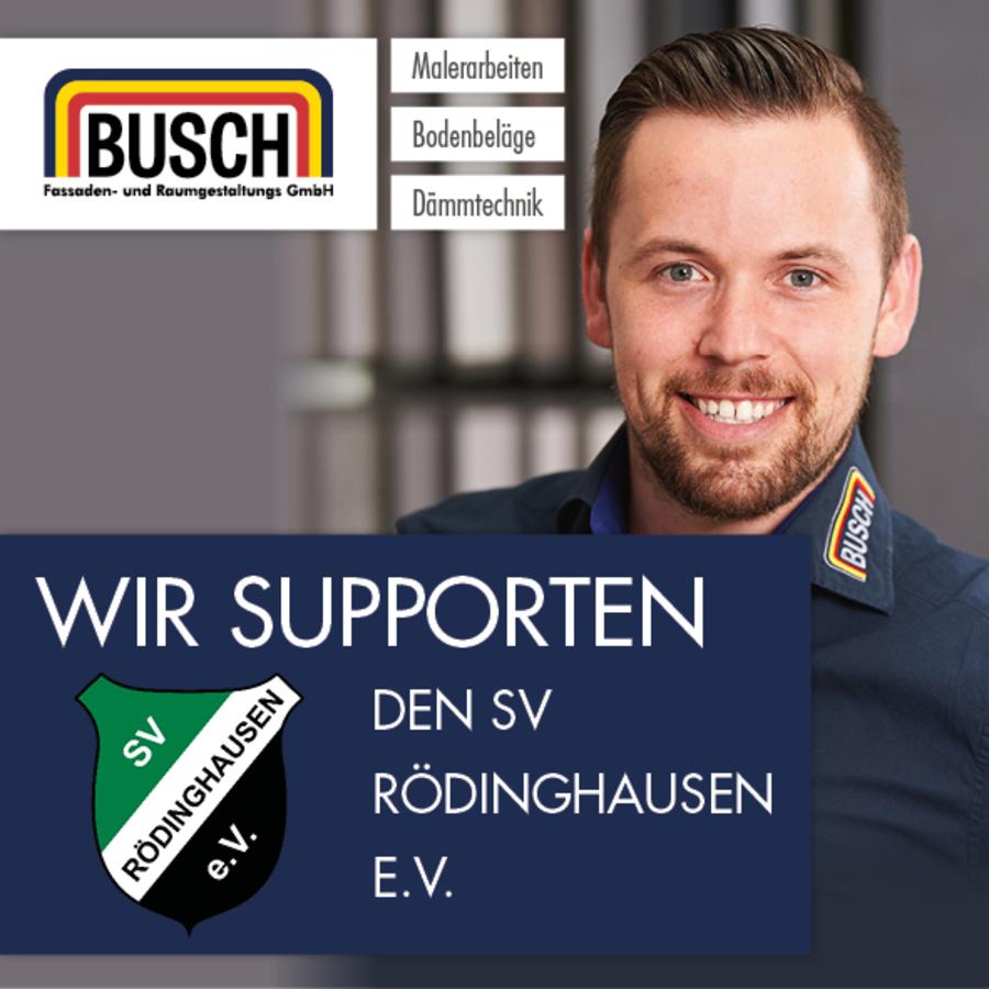 Wir supporten den SV Rödinghausen e.V.
