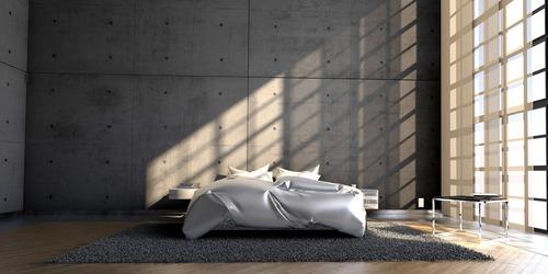 Stylischer Wandbelag: Sichtbeton als kreatives Gestaltungselement in Wohnräumen