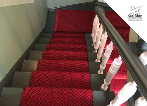 ...farbenfroh leben - auch und vor allem im Treppenhaus!