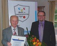 Goldener Meisterbrief für Heinz Kater