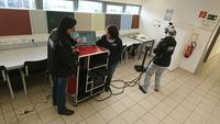 Neue Spritzverfahren-Simulatoren im Bielefelder Malerbildungszentrum (MBZ)