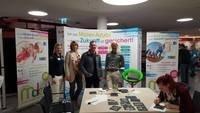 Maler- und Lackiererinnung Gütersloh und das Malerbildungszentrum Bielefeld informierten auf der BIB Gütersloh