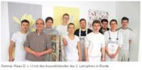 Malerschule Bünde saniert Fassade eines neuen Spritzstandes