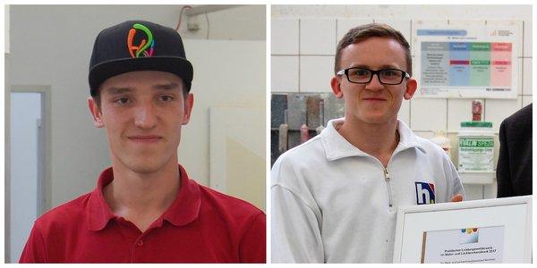 So sehen Sieger aus: Anton Mayer (l.) und Marcin Pedowski