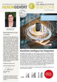 Kundenmagazin HEREINGEHÖRT 1/2018
