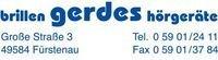 Brillen Hörgeräte Gerdes_Logo