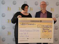 SPENDEN STATT SCHENKEN - 10.000 Euro für die Deutsche KinderhospizSTIFTUNG