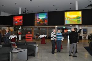 Ausstellung Ton Schulten in Rheine, Kunstausstellung   perfect sound GmbH Beleuchtungstechnik