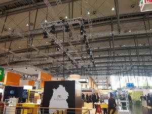 Messebeleuchtung, Messelampen | perfect sound GmbH Messetechnik Verleih