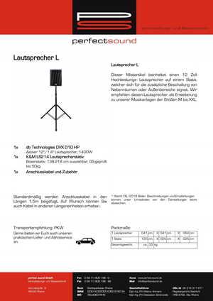 Musikanlage L von ps-partyplan.de aus Rheine