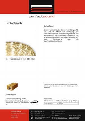 Lichterkette mieten bei ps-partyplan.de aus Rheine