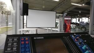 Medientechnik bei Kongressveranstaltung vom BVMW beim Autohaus Senger in Rheine | perfect sound GmbH Veranstaltungstechnik