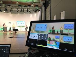 Vorschaumonitor Videoregie