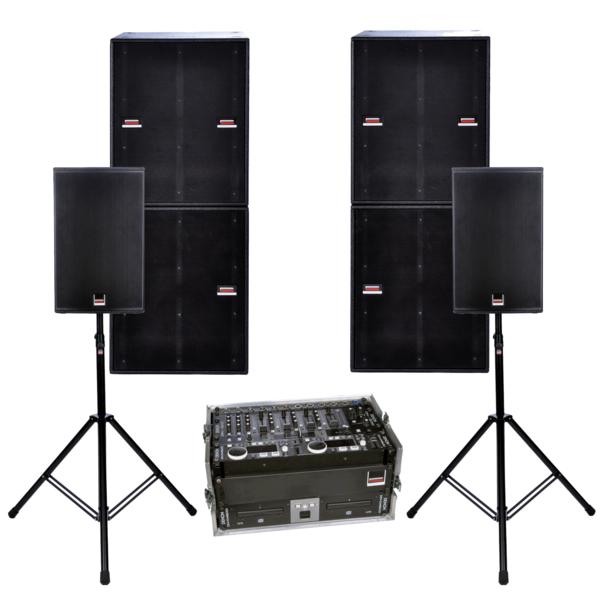 Soundsystem im großen Stil für die ultimative Party!
