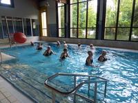 Freie Plätze in Wassergymnastik