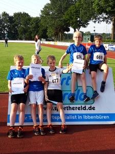 Schülermehrkampf und Kreisstaffel-Meisterschaft