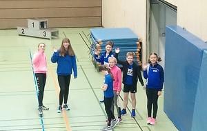 Leichtathleten des TB Burgsteinfurt starten in die Hallensaison