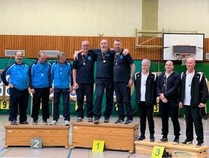 Einzel-Silber und Mannschafts-Gold bei Bezirksmeisterschaft in Reken
