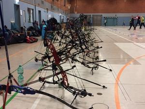Bogensportler trainieren ab sofort wieder in der Halle!