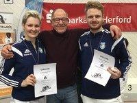 Glänzende Leistungen bei Meisterschaften in Quernheim